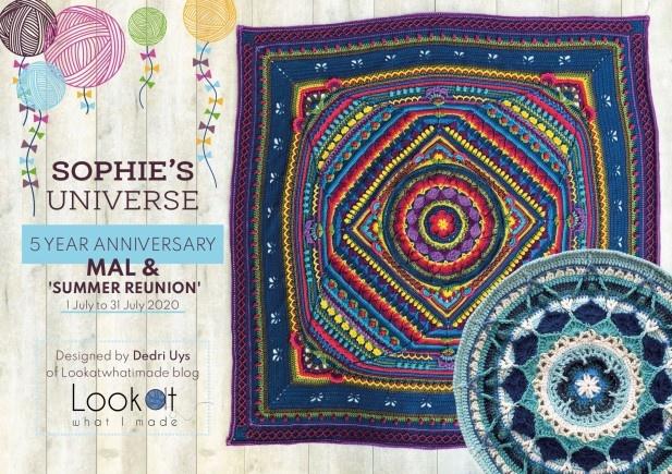 Scheepjes MAL: Sophie's Universe