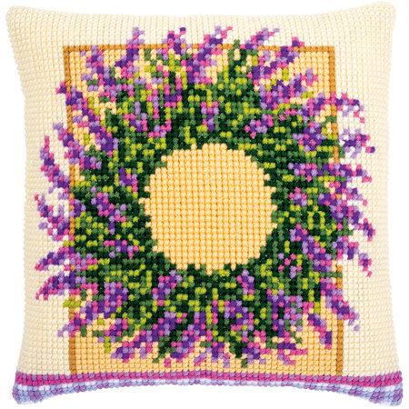 Vervaco Kussen Lavendelkrans