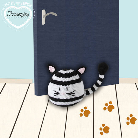 Scheepjes Haakpakket: Kitty Cat deurstop