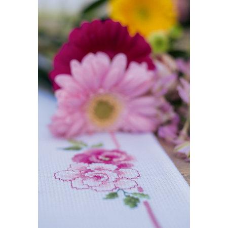 Vervaco Borduurpakket Loper Boeket klassieke bloemen