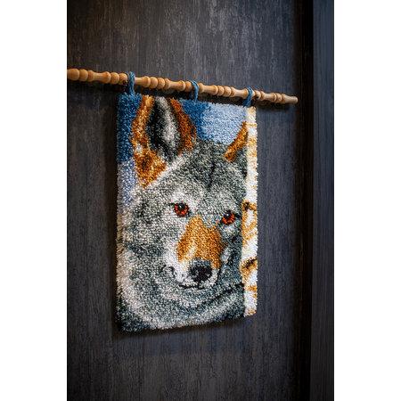 Vervaco Wandkleed Wolf