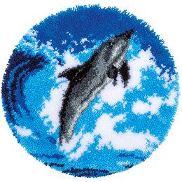 Vervaco Knooptapijt Dolfijn