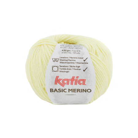 Katia Basic Merino 84 - pastelgeel