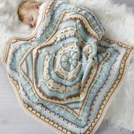 Katia Oasis Mandala  Babydeken