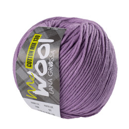 Lana Grossa Mc Wool Cotton Mix 130 Licht Paars (159)