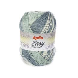 Katia Easy Jacquard Groen Waterblauw (303)