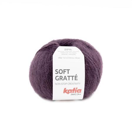 Katia Soft Gratte Aubergine (74)