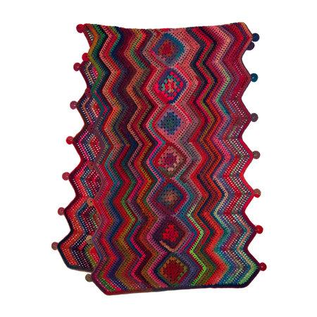 Lana Grossa Haakpakket: Omslagdoek Colorissimo (4-18)