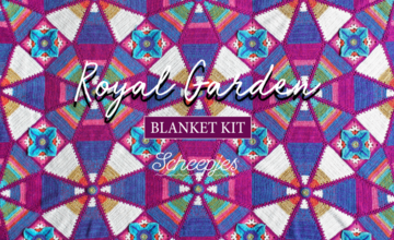 Scheepjes Royal Garden Crochet Blanket Kit