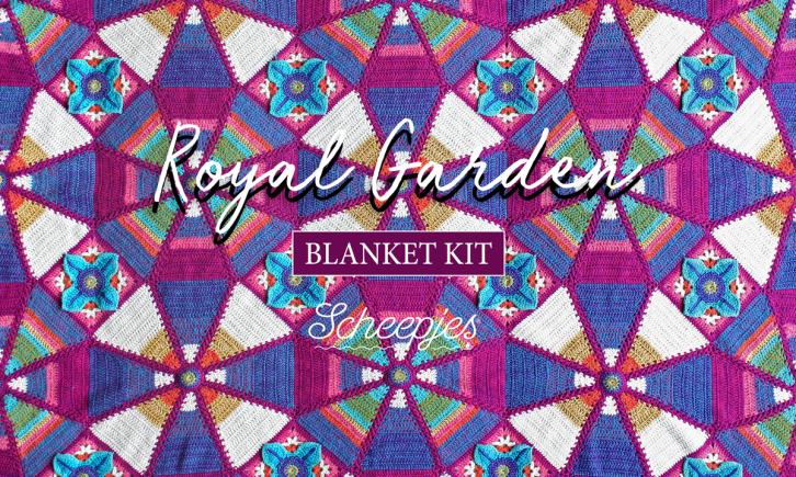 Scheepjes Royal Garden Crochet Blanket Kit
