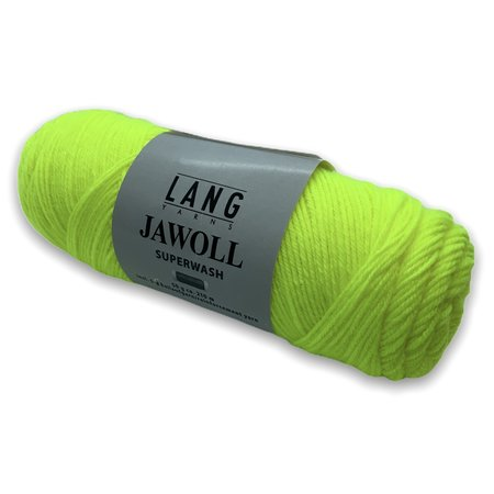 Lang Yarns Jawoll Superwash neongeel (313)