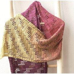 Caro's Atelier Haakpakket Sjaal Rosas