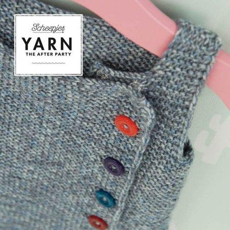 Scheepjes Yarn afterparty 113: Cute as a Button Pinafore
