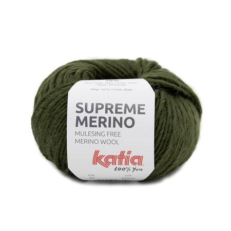 Katia Supreme Merino Kaki (97)