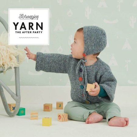Scheepjes Yarn afterparty 110: Playday bootees & bonnet