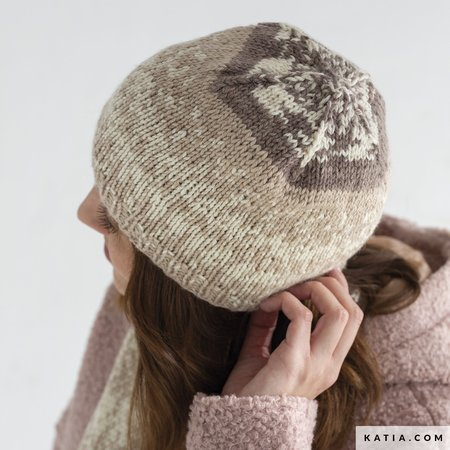 Katia Breipakket: Sjaal & Muts van Easy Jacquard