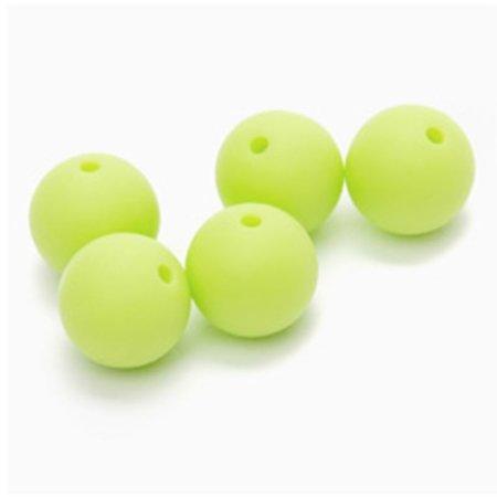 Durable Siliconen kralen 12mm Lime (547)