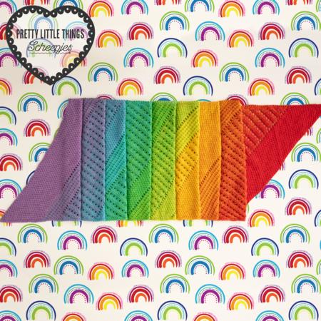 Scheepjes Klein maar fijn - Regenboog (06)