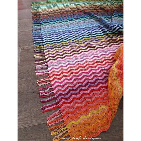 Scheepjes Haakpakket: Rainbow Sea Waves Blanket - New Leaf