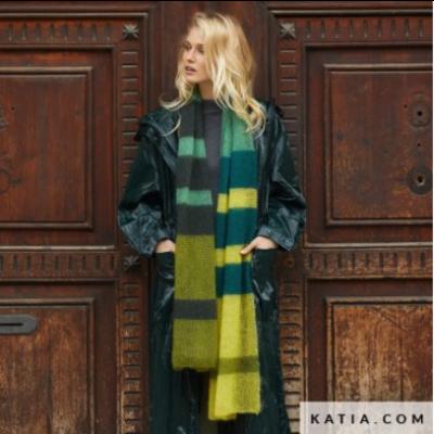 Katia Breipatroon 50 Shades Mohair Sjaal