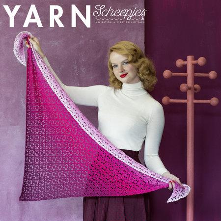Scheepjes Frozen Rose Shawl - Yarn 10
