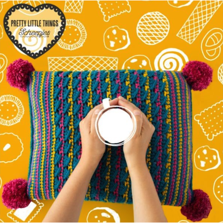 Scheepjes Haakpakket: Crazy Cookie Cushion