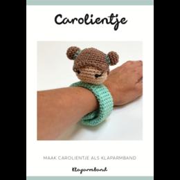 Caro's Atelier Haakpatroon Klaparmband Carolientje (digitaal)