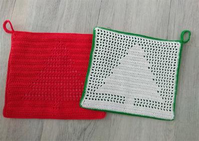Caro's Atelier Haakpakket Kerst Pannenlappen