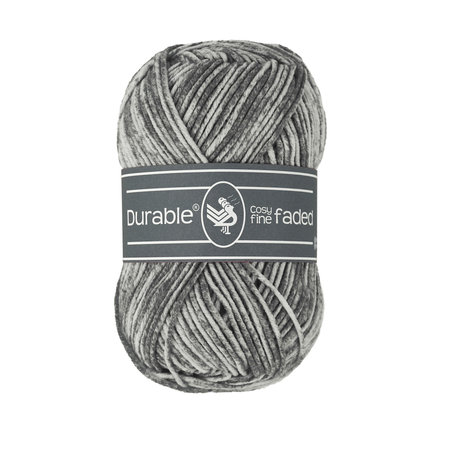 Durable Cosy Fine Faded 2237 - Charcoal