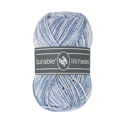Durable Cosy Fine Faded 289 - Blue Grey