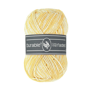 Durable Cosy Fine Faded Light Yellow (309)