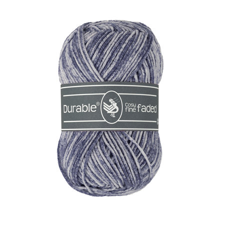 Durable Cosy Fine Faded 321 - Navy