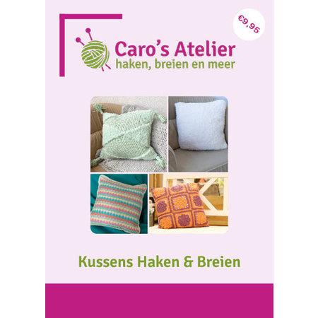 Caro's Atelier Patronenboekje Kussens Haken & Breien (digitaal)