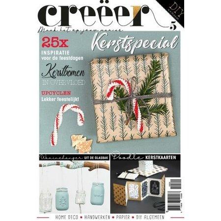 Tijdschrift Creëer magazine Nr. 5 - Kerstspecial