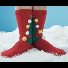 Schachenmayer Regia Breipakket  Sokken met Kerstboom