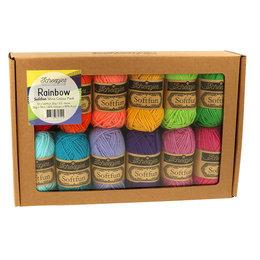 Scheepjes Softfun Colour Pack Rainbow