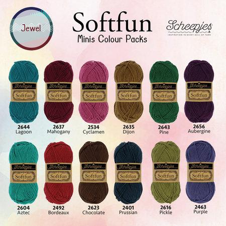 Scheepjes Softfun Colour Pack Jewel