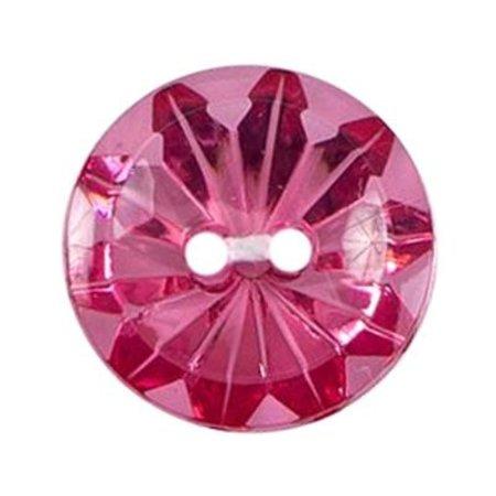 Milward Knoop roze 17  mm (0374)