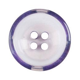 Milward Knoop helder met paars 17 mm (1093)