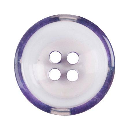 Milward Knoop helder met paars 22 mm (1094)