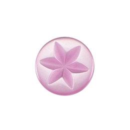 Milward Knoop roze 11 mm ster (0095)