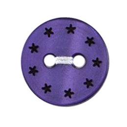 Milward Knoop met sterretjes 13 mm (0184)