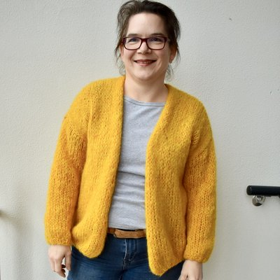 Caro's Atelier Breipakket Caro's Oversized Vest