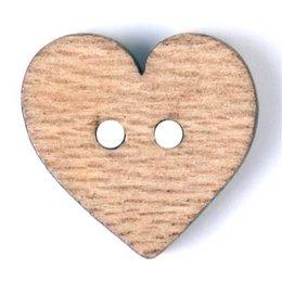 Milward Knoop hout hart 15 mm (1065)