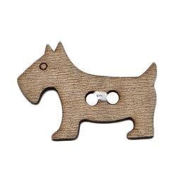 Milward Knoop hout hondje 30 mm (1072)