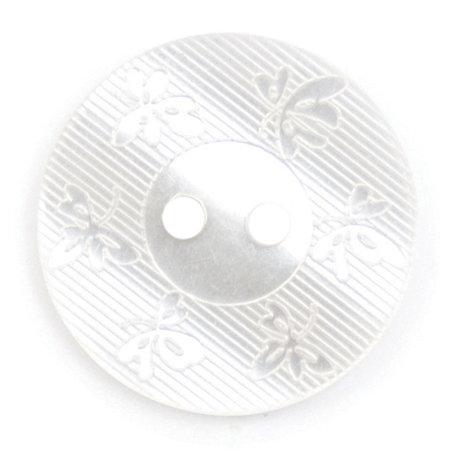 Milward Knoop glans met werkje  17 mm (0062)