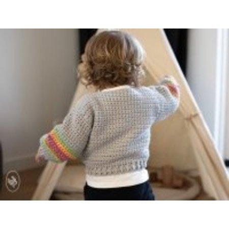 Durable Haakpatroon Babyvestje Rainbow