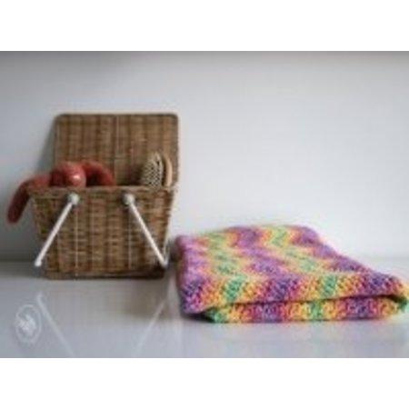 Durable Haakpatroon Ripple Baby Blanket