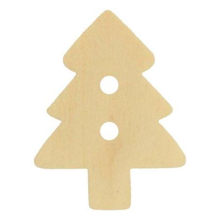 Knoop Houten Kerstboom