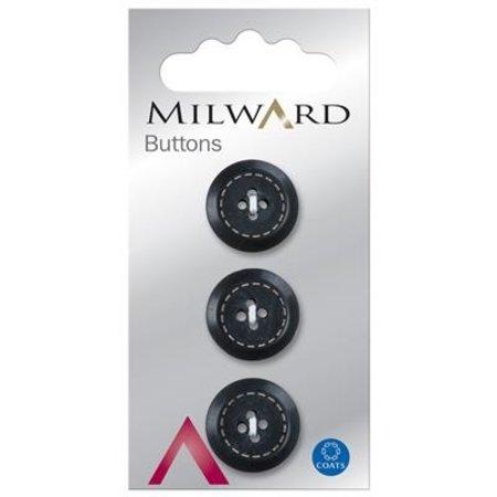 Milward Knoop met werkje 17 mm (0202)